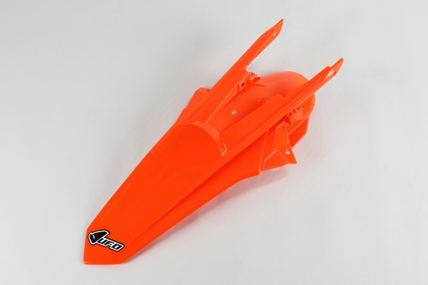 Rear fender / No SX 250 16 - neon orange - Ktm - REPLICA PLASTICS - KT04060-FFLU - UFO Plast