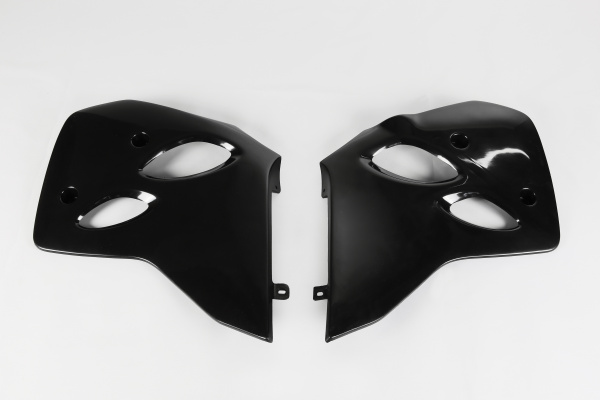 Radiator covers - black - Ktm - REPLICA PLASTICS - KT03036-001 - UFO Plast