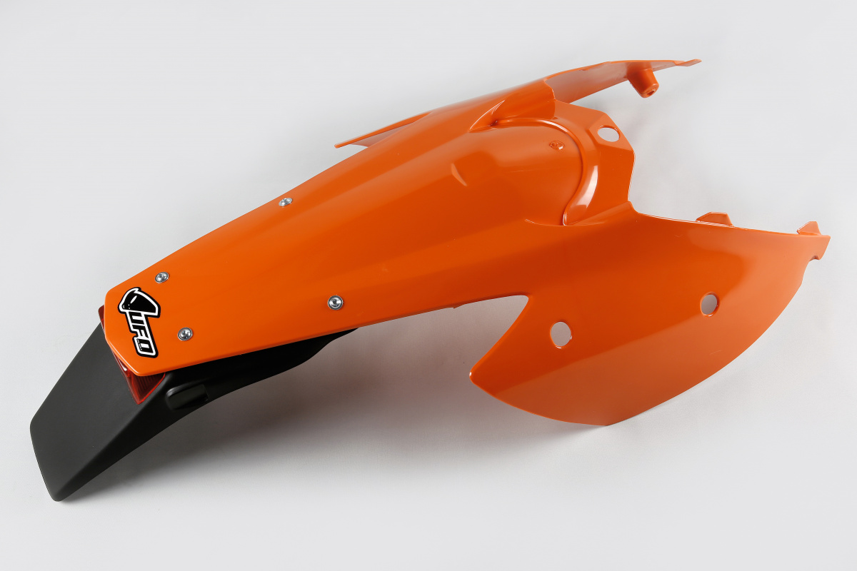 Rear fender - orange 127 - Ktm - REPLICA PLASTICS - KT03081-127 - UFO Plast