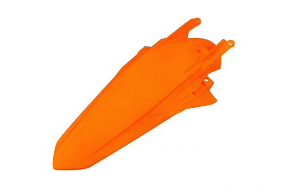 Rear fender / With pins - orange 127 - Ktm - REPLICA PLASTICS - KT05002-127 - UFO Plast