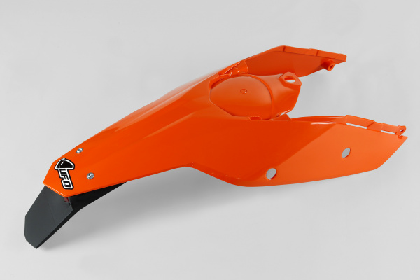 Rear fender / Enduro LED - orange 127 - Ktm - REPLICA PLASTICS - KT03097-127 - UFO Plast
