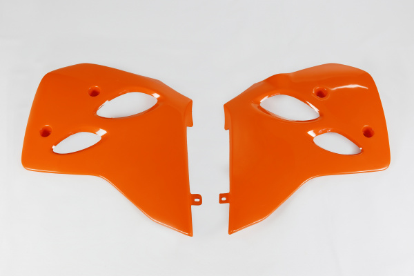 Radiator covers - orange 127 - Ktm - REPLICA PLASTICS - KT03036-127 - UFO Plast