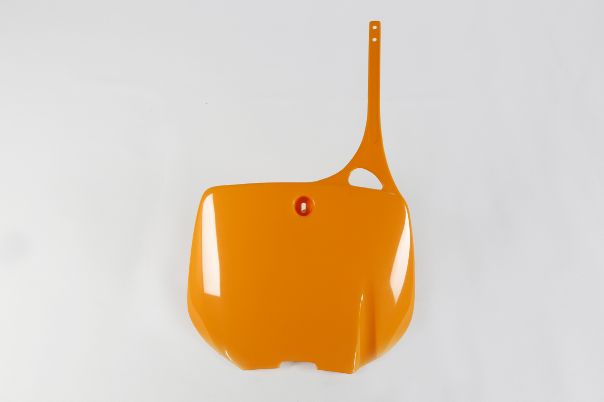 Front number plate - orange 126 - Ktm - REPLICA PLASTICS - KT03024-126 - UFO Plast