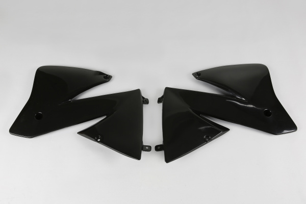 Radiator covers / SX - black - Ktm - REPLICA PLASTICS - KT03066-001 - UFO Plast