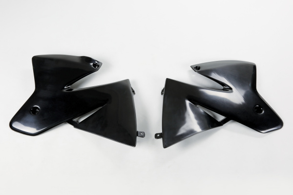 Radiator covers - black - Ktm - REPLICA PLASTICS - KT03040-001 - UFO Plast