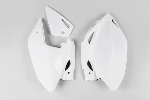Side panels - white 041 - Honda - REPLICA PLASTICS - HO04601-041 - UFO Plast