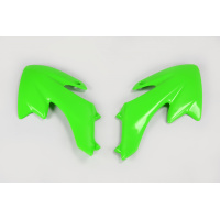 Radiator covers - green - Honda - REPLICA PLASTICS - HO03643-026 - UFO Plast