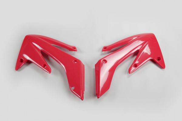 Radiator covers - red 070 - Honda - REPLICA PLASTICS - HO03634-070 - UFO Plast