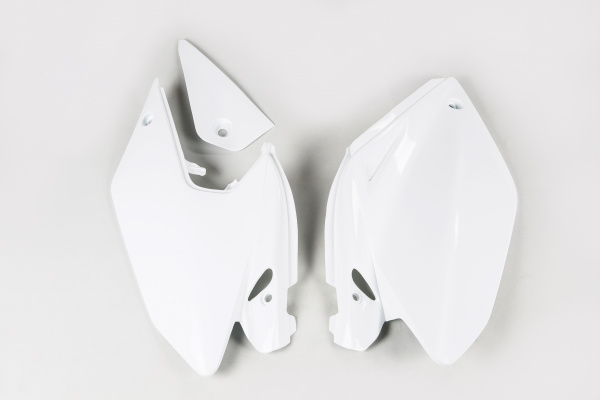 Side panels - white 041 - Honda - REPLICA PLASTICS - HO03647-041 - UFO Plast