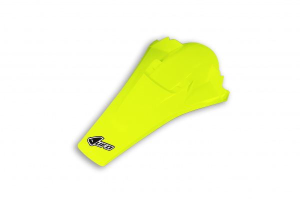 Rear fender / With pins - neon yellow - Husqvarna - REPLICA PLASTICS - HU03374-DFLU - UFO Plast