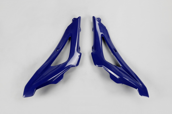 Radiator covers / Upper part - blue 087 - Husqvarna - REPLICA PLASTICS - HU03316-087 - UFO Plast