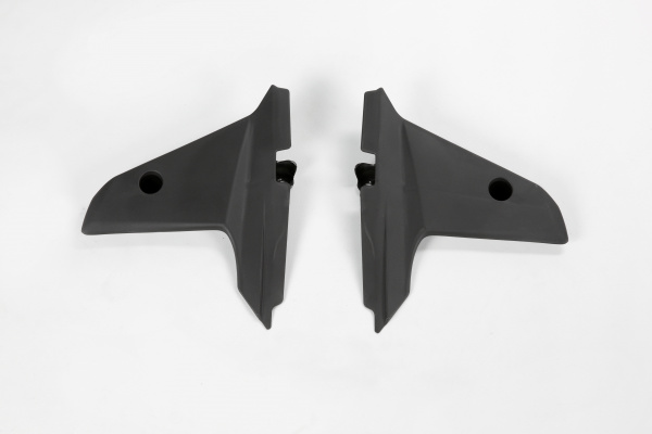 Radiator covers / Lower part - black - Husqvarna - REPLICA PLASTICS - HU03335-001 - UFO Plast