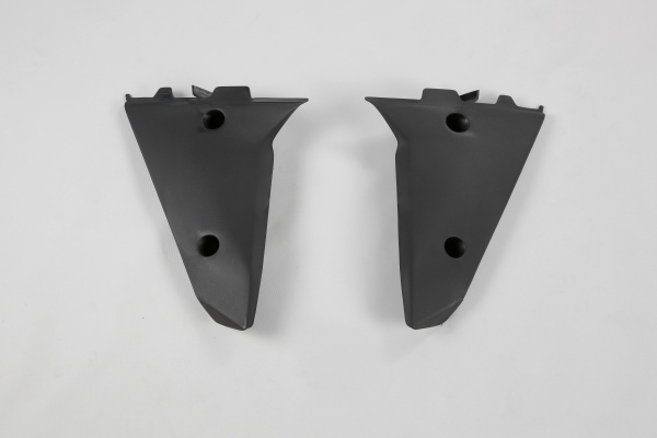 Radiator covers / Lower part - black - Husqvarna - REPLICA PLASTICS - HU03318-001 - UFO Plast