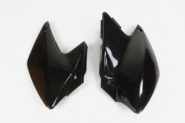 Side panels - black - Kawasaki - REPLICA PLASTICS - KA03790-001 - UFO Plast