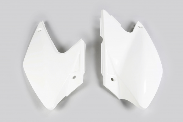 Side panels - white 047 - Kawasaki - REPLICA PLASTICS - KA03790-047 - UFO Plast