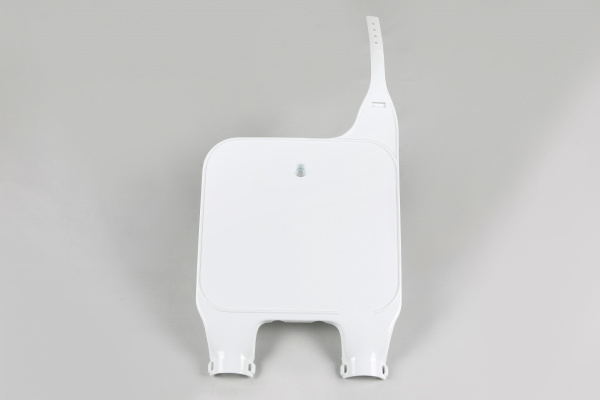 Front number plate / Upside down - white 041 - Tm - REPLICA PLASTICS - TM03116-041 - UFO Plast