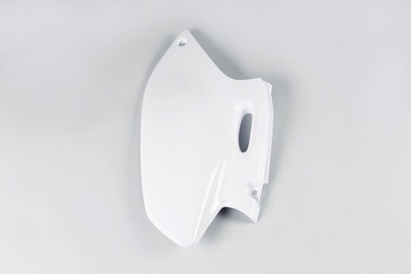 Side panels / Left side - white 046 - Yamaha - REPLICA PLASTICS - YA03813-046 - UFO Plast