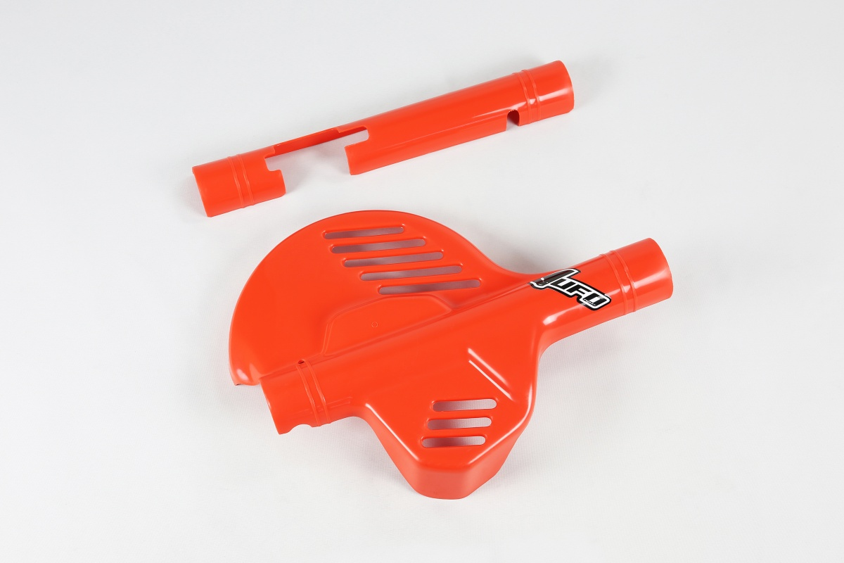 Mixed spare parts / Disc cover - orange CR 90 - Honda - REPLICA PLASTICS - CD01516-121 - UFO Plast