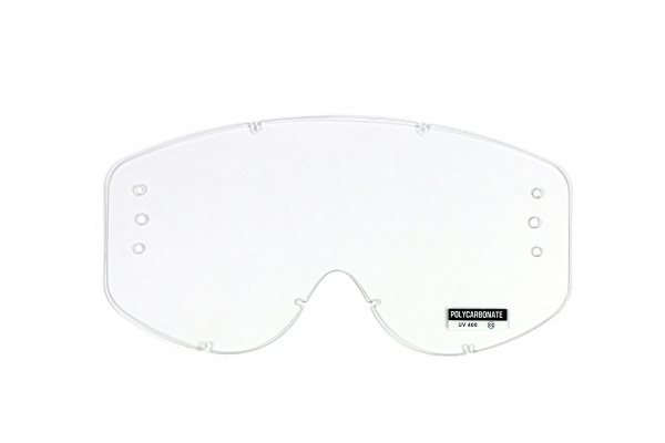 Roll Off's compatible clear lens for motocross bullet google - Goggles - LE02187 - UFO Plast