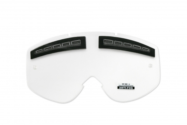 Vented clear lens for motocross google Mixage - Goggles - LE02177 - UFO Plast