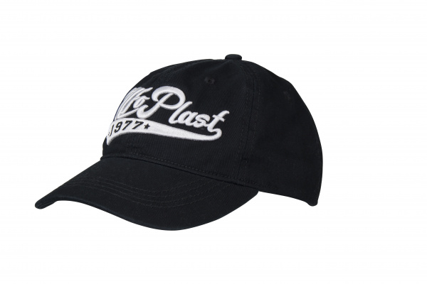 Cap with embroidery logo black and white - Cappellini - CP04377 - UFO Plast
