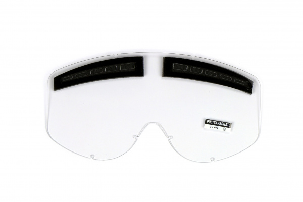 Vented clear lenses for motocross Bullet goggles - Goggles - LE02184 - UFO Plast