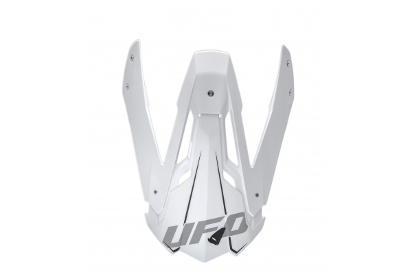 Visor for motocross Diamond helmet white - Helmet spare parts - HR077 - UFO Plast