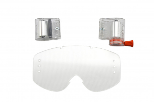 Roll off's with clear lens for motocross google Nazca, Fusion Evolution, Nazca Evolution2 - Goggles - LE02166 - UFO Plast