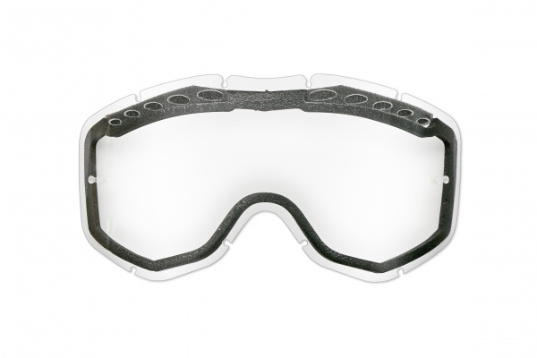 Clear ventilated double lens for motocross Sirius google - Goggles - LE02190 - UFO Plast