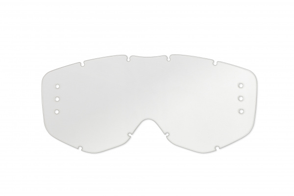 Roll Off's compatible clear lens for motocross Sirius goggles - Goggles - LE02195 - UFO Plast