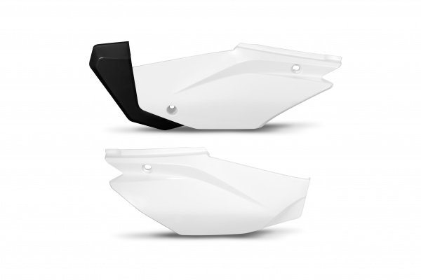 Side panels - white 041 - Honda - REPLICA PLASTICS - HO05601-041 - UFO Plast