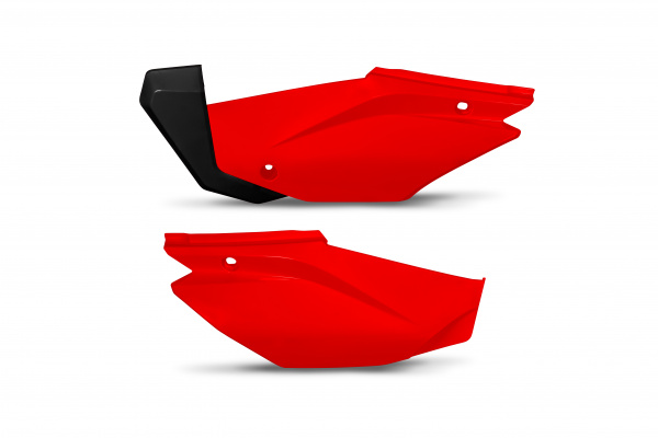 Side panels - red 070 - Honda - REPLICA PLASTICS - HO05601-070 - UFO Plast