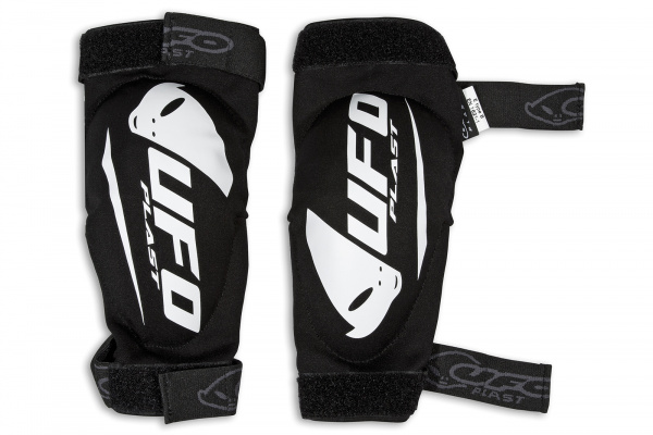 Motocross elbow guard Spartan black - Elbow pads - GO02281-W - UFO Plast