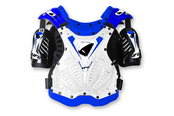 Motocross Shield One chest protector blue - Chest protectors - PT02060-W - UFO Plast