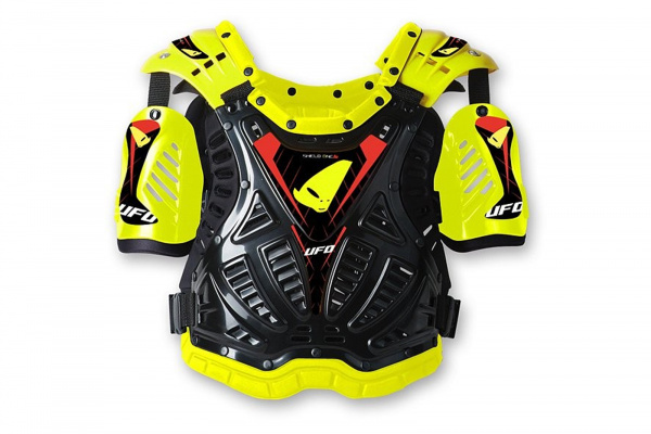 Motocross Shield One chest protector yellow - Chest protectors - PT02060-D - UFO Plast