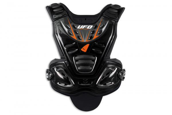 Motocross Valkyrie Evo chest protector long version black - Chest protectors - PT02359-K - UFO Plast