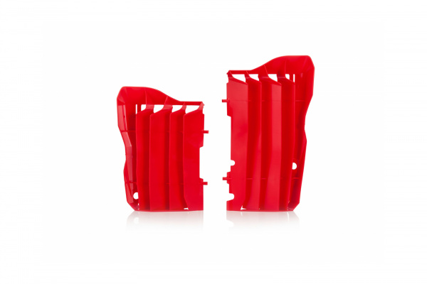 Motocross radiator louvers for Honda red - Radiator Louvers - AC02452 - UFO Plast