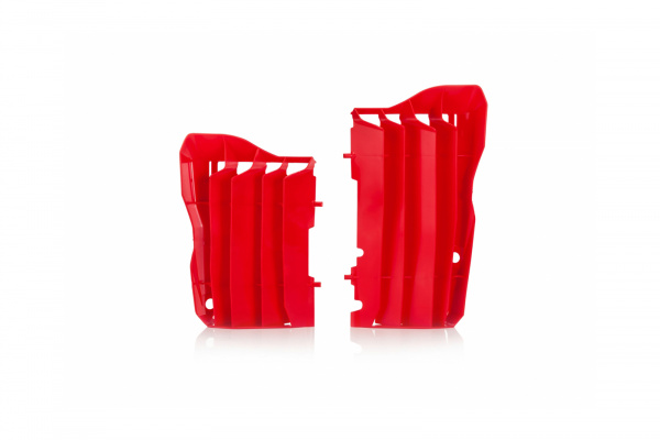 Motocross radiator louvers for Honda red - Radiator Louvers - AC02456 - UFO Plast