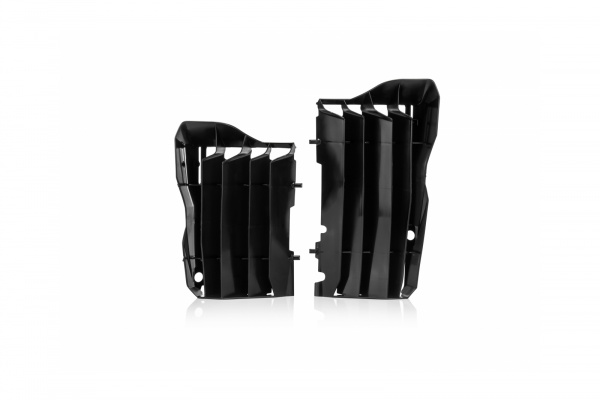 Motocross radiator louvers for Honda black - Radiator Louvers - AC02455 - UFO Plast