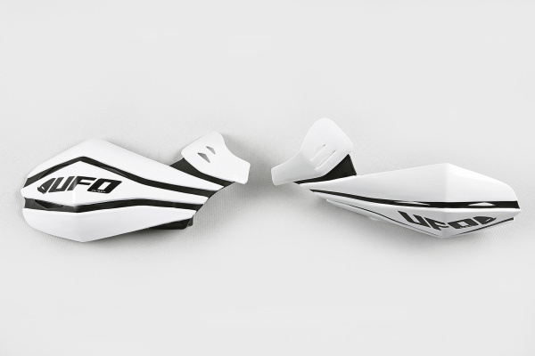 Replacement plastic for Claw handguards white - Spare parts for handguards - PM01641-041 - UFO Plast