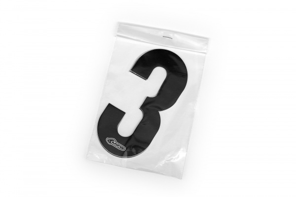 Numbers stickers for front number plate and side panels - Adesivi - AD01903-0013 - UFO Plast