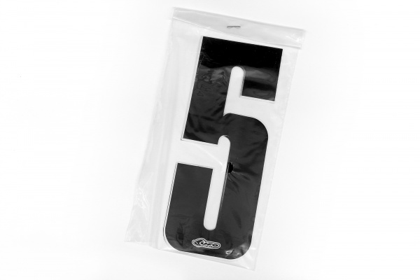 Numbers stickers for front number plate and side panels - Adesivi - AD01902-0015 - UFO Plast