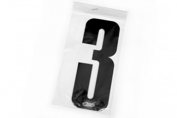 Numbers stickers for front number plate and side panels - Adesivi - AD01902-0013 - UFO Plast