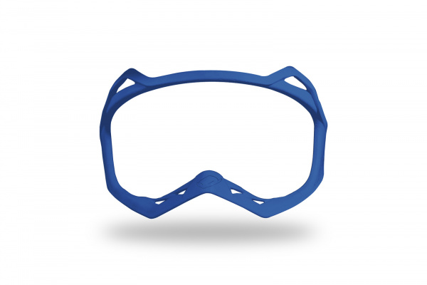 Nose protection rubber for motocross Warrior helmet blue - Helmet spare parts - HR007-C - UFO Plast
