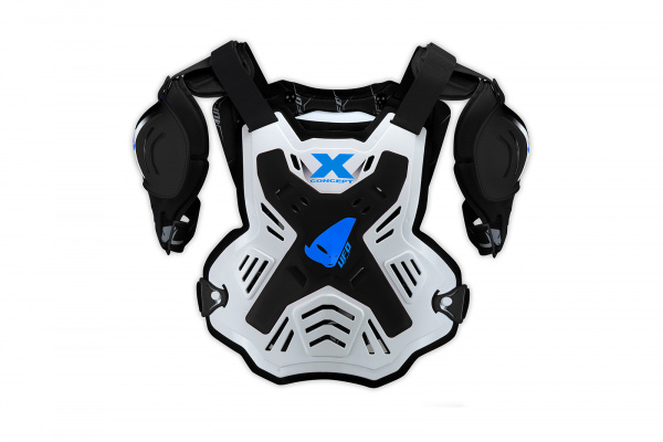 Motocross X-Concept chest protector white and black - Chest protectors - PT02378-K - UFO Plast