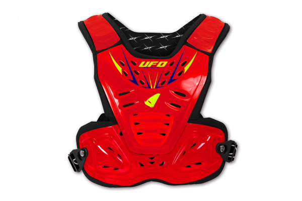 Motocross chest protector Reactor 2 Evolution for kids red - Chest protectors - PT02275-BFLU - UFO Plast