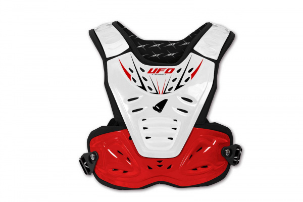 Motocross Reactor 2 Evolution chest protection white and red - Chest protectors - PT02272-W - UFO Plast