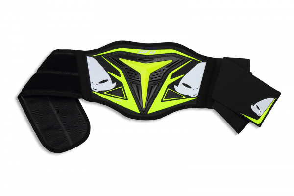 Motocross body belt Demon for kids neon yellow - Belts - CI02357-DFLU - UFO Plast