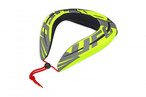 Motocross neck support for kids neon yellow - Neck supports - PC02371 - UFO Plast