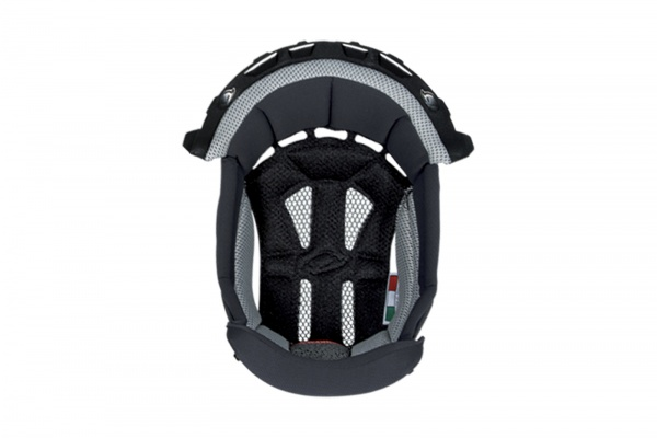 Inner pad for motocross helemt Interceptor & Warrior black and white - Helmet spare parts - HR010-KE - UFO Plast